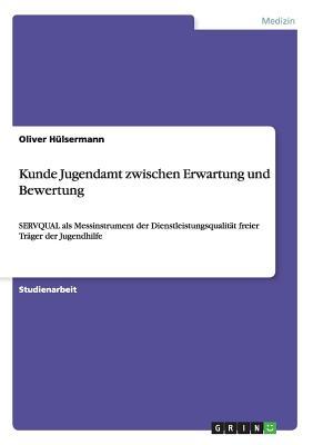 Kunde Jugendamt Zwischen Erwartung Und Bewertung - Hulsermann, Oliver