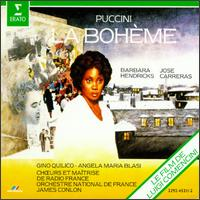 La Bohème - Angela Maria Blasi (soprano); Barbara Hendricks (soprano); Federico Davia (bass); Francesco Ellero d'Artegna (bass);...