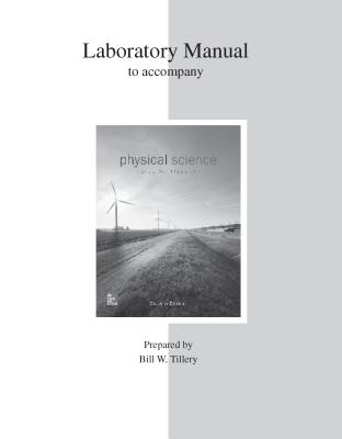 Lab Manual for Physical Science - Tillery, Bill W