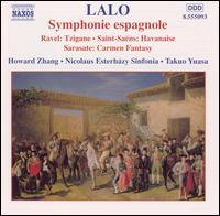 Lalo: Symphonie espagnole - Howard Zhang (violin); Nicolaus Esterházy Sinfonia; Takuo Yuasa (conductor)