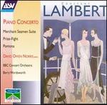 Lambert: Piano Concerto