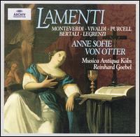 Lamenti - Anne Sofie von Otter (mezzo-soprano); Franz-Josef Selig (bass); Jakob Lindberg (theorbo); Markus Mollenbeck (cello);...