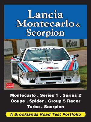 Lancia Montecarlo & Scorpion Road Test Portfolio - Clarke, R. M. (Editor)