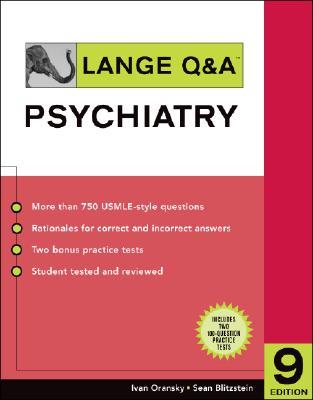 Lange Q & A Psychiatry - Oransky, Ivan, MD