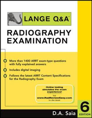 Lange Q&A - Radiography Examination - Saia, D.A.
