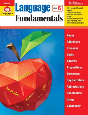 Language Fundamentals, Grade 6 - Evan-Moor Educational Publishers