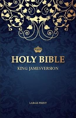 Large Print Bible-KJV - Biblica (Creator)