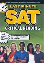 Last Minute SAT: Critical Reading