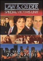 Law & Order: Special Victims Unit - The Second Year 2000-2001 [3 Discs] -
