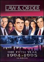 Law & Order: The Fifth Year [5 Discs]
