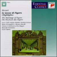 Le Nozze di Figaro [Highlights] - Andrea Severi (harpsichord); Angelo Nosotti (vocals); Gennaro Sica (vocals); Giorgio Tadeo (vocals); Karita Mattila (vocals);...