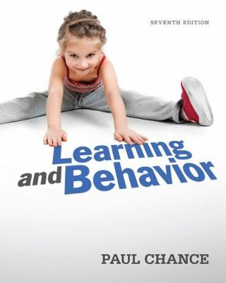Learning and Behavior - Chance, Paul