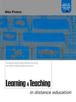 Learning & Teaching in Distance Education - Peters, Otto