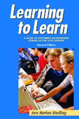 Learning to Learn, Second Edition - Riedling, Ann Marlow