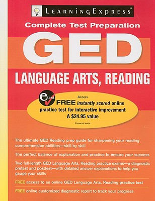 LearningExpress's GED Language Arts, Reading - LearningExpress (Creator)