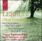 Lebrun: Oboe Concertos Nos. 2, 7, 3, 1