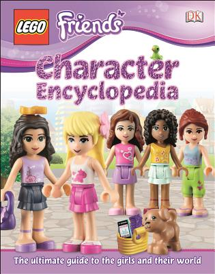 Lego Friends Character Encyclopedia - Saunders, Catherine