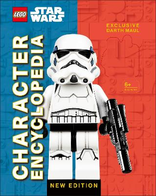 LEGO Star Wars Character Encyclopedia New Edition: with exclusive Darth Maul Minifigure - Dowsett, Elizabeth