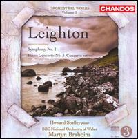 Leighton: Symphony No. 1; Piano Concerto No. 3 'Concerto estivo' - Howard Shelley (piano); BBC National Orchestra of Wales; Martyn Brabbins (conductor)