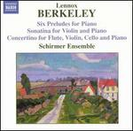 Lennox Berkeley: Six Preludes; Sonatina; Concertino