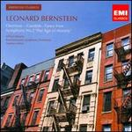 Leonard Bernstein: Overture - Candide; Fancy Free; Symphony No. 2 'The Age of Anxiety'
