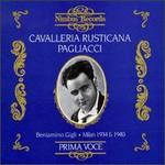 Leoncavallo: Pagliacci/Mascagni: Cavalleria Rustivana