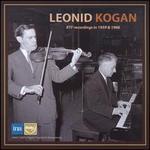 Leonid Kogan: RTF Recordings in 1959 & 1966