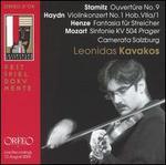 Leonidas Kavakos Performs Stamitz, Haydn, Henze, Mozart
