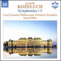 Leopold Ko?eluch: Symphonies, Vol. 3 - Filip Dvorák (harpsichord); Czech Chamber Philharmonic Orchestra; Marek ?tilec (conductor)