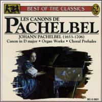 Les Canons De Pachelbel - Franz Lehrndorfer (organ); Hanns-Friedrich Kunz (bass); Helmuth Rilling (organ); Stuttgart Chamber Orchestra