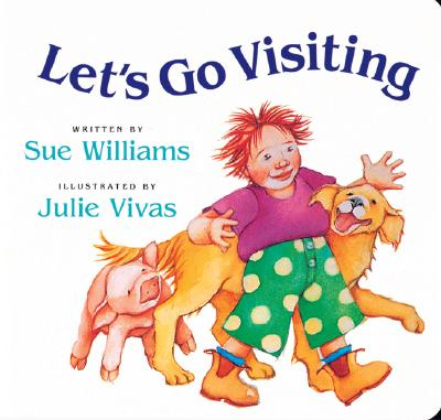 Let's Go Visiting: Lap-Sized Board Book - Williams, Sue