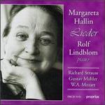 Lieder: Richard Strauss, Gustav Mahler, W.A. Mozart