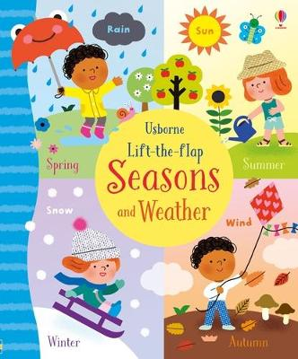 Lift-the-Flap Seasons and Weather - Bathie, Holly
