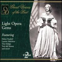 Light Opera Gems - Ada Sari (soprano); Amelita Galli-Curci (soprano); Charles Cerne (piano); Clement Barone (flute);...