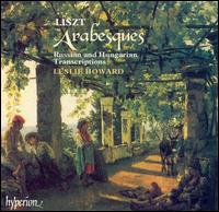 Liszt: Arabesques - Russian and Hungarian Transcriptions - Leslie Howard (piano); Philip Moore (piano)