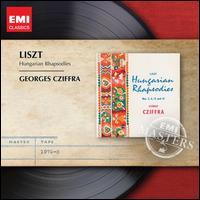 Liszt: Hungarian Rhapsodies - György Cziffra (piano)