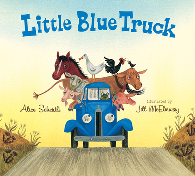 Little Blue Truck Lap Board Book - Schertle, Alice, and McElmurry, Jill (Illustrator)