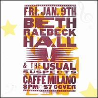 Live at Caffe Milano - Beth Raebeck Hall
