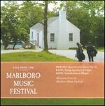 Live from the Marlboro Music Festival: Debussy, Ravel Quartets