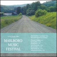 Live from the Marlboro Music Festival: Mozart, Beethoven, Schubert - David Soyer (cello); Diana Cohen (violin); Mark Holloway (viola); Mitsuko Uchida (piano); Sarah Kapustin (violin);...