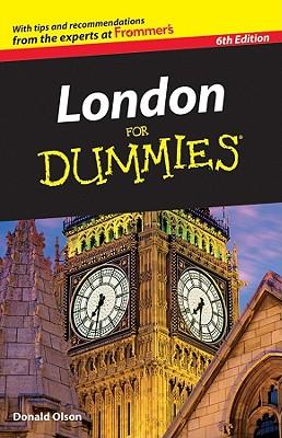 London for Dummies - Olson, Donald