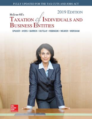 Loose Leaf For Mcgraw Hills Taxation Of Individuals And Business