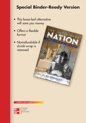 Looseleaf for Unfinished Nation: A Concise History, Vol I - Brinkley, Alan