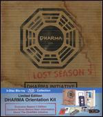 Lost: Season 5 - Dharma Initiative Orientation Kit [Limited Edition] [5 Discs] [Blu-ray]