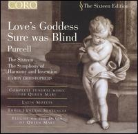 Love's Goddess Sure Was Blind - Carys-Anne Lane (soprano); David Woodcock (violin); Helen Orsler (violin); Libby Crabtree (soprano); Neil MacKenzie (tenor);...