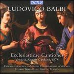 Ludovico Balbi: Ecclesiasticae Cantiones