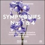 Ludwig van Beethoven: Symphonies No. 1 & 4
