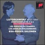 Lutoslawski: Symphonies Nos. 3 & 4