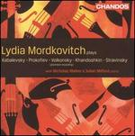 Lydia Mordkovitch plays Kabalevsky, Prokofiev, Volkonsky, Khandoshkin & Stravinsky