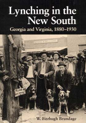 Lynching in the New South: Georgia and Virginia, 1880-1930 - Brundage, W Fitzhugh